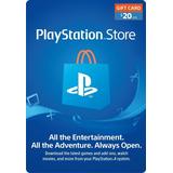 Tarjeta Playstation Network 20 Psn Usa Ps4 Ps3 | Mvd Store