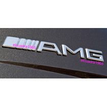 Emblema Insignia Logo Amg Mercedes Benz En Aluminio