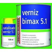 Barniz Catalizado 5:1 Maxi Rubber P U C/ Catalizador .x900ml