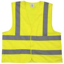 Chaleco Reflectivo Camisa Con Doble Banda Reflectiva Amarill