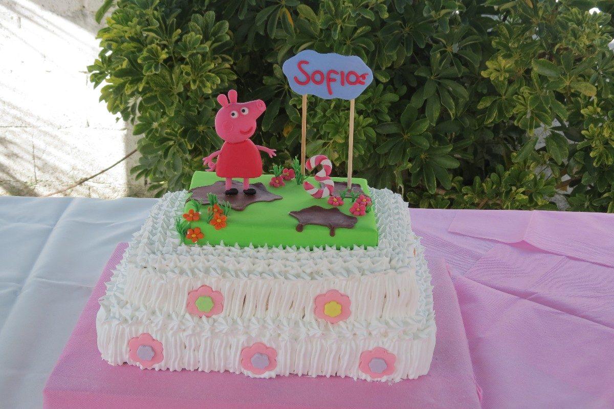 Adorno torta peppa pig car interior design - Decoracion de tortas ...