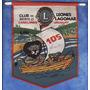Banderin - Club De Leones - Distrito J-3 Canelones - Lagomar