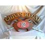 Chivas Regal .whisky. Cartel En Relieve! Letras Corporeas