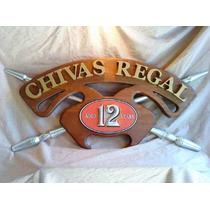 Chivas Regal .whisky. Cartel En Relieve!!!