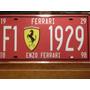 Chapas Retro De Auto Ruta 66 Ferrari Matriculas Exclusivas!