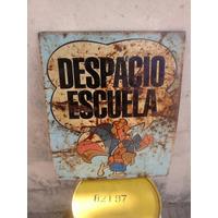 Cartel De Chapa El Gallito Luis