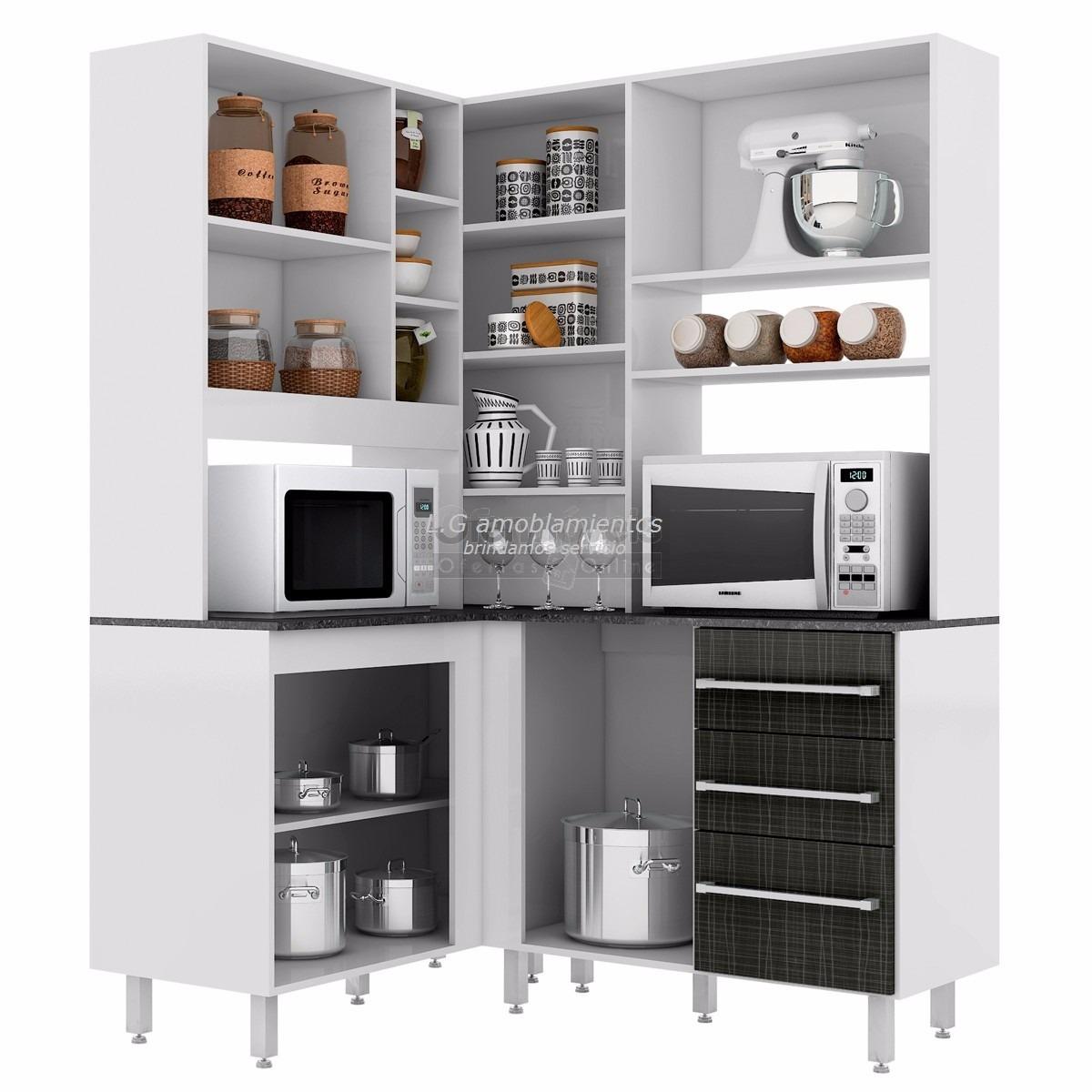 Muebles de cocina esquineros muebles clasicos cocinas for Armarios de cocina esquineros