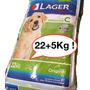 Lager Cachorro 22kg+2kg Regalo +snacks +envios Sin Cargo