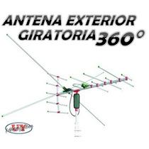 Antena Aerea Exterior Rotativa Nueva En Caja Mejor Precio