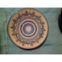Antiguo Plato Porcelana Decorado Colgar Pared Diametro 30cm
