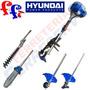 4 En 1 Jardin Hyundai 52cc Desmalezador Cortacerc Motosierra