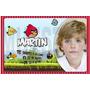 Invitaciones Fiestas Cumpleaños Angry Birds Tarjetas X 10 U