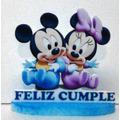 Centros De Mesa Infantiles Mickey Minnie Cumpleaños Fiestas