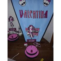 Centros De Mesa Infantiles Monster High Dracolaura
