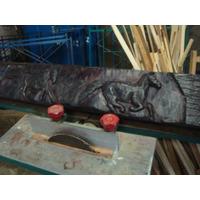 Durmiente Curupay N~andubay Tallados ,antiguos Barbacoas