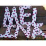Letras Con Tu Nombre De 30cm Para Decorar El Cumpleaños