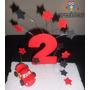 Cars Con Numero Con Estrellas Para Decorar La Torta!!!