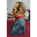 Busto De Artigas En Yeso 25 Cm Alto