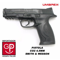 Pistola Co2 4,5mm Smith & Wesson Umarex