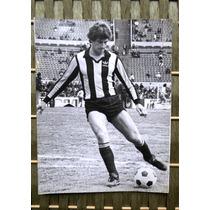 Antigua Foto De Jugador De Peñarol Fernando Morena 1982.