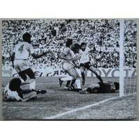 Foto: Final Copa De Oro 1980/ 81. Uruguay - Brasil