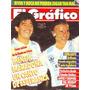 Revista El Grafico No 3642 Maradona Menem Argentina 1989
