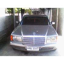Mercedes 280s W126 Con 300 Td Aleman Origuen Diplomatico