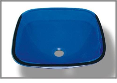 Bacha Para Baño Azul:Bacha Pileta De Baño De Vidrio Azul – U$S 89,00 en MercadoLibre