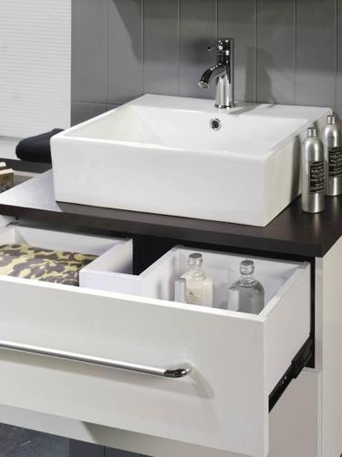 Muebles de ba o sin quitar lavabo - Muebles para lavabo con pedestal ...