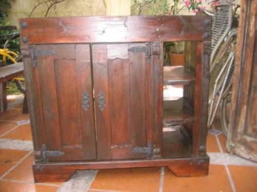 Tipos De Bachas Para Baño:Bajo Mesada Para Bacha De Baño Madera Maciza – $ 5900,00 en