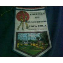 Banderin Escuela Basket Coca Cola Paraguay