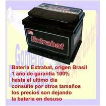 Bateria 75 Amp Extrabat Libre De Mantenimiento