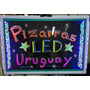 Pizarra Led Cartel Luminoso 60x40+ctrol Remoto+garantia 1año