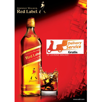 Whisky Johnnie Walker Rojo 1 Lt Delivery Gratis.