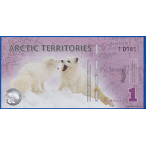Fv * Billete - Territorios Articos 1 Dolar Polimero Unc