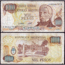 Reposición Argentina 1000 Pesos (1976-83)