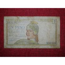 1 Peso Uruguay Serie A 1930 Est Vf- Bill. Raro(106)