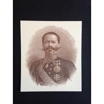 Uruguay Litografía Víctor Emanuel (impresa En Billete 1887)