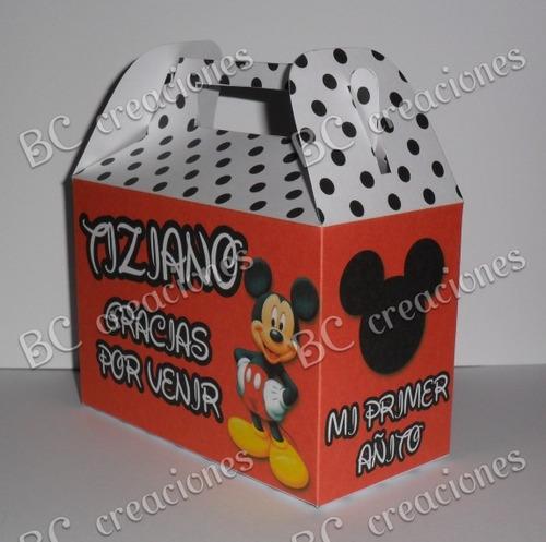 Cajas - Cajitas Para Sorpresitas- Mickey - $ 290,00 en MercadoLibre