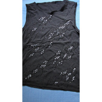 Elegante Blusa Para Fiesta, Musculosa, Remera Vestir,bordada
