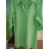 Hermosa Camisa 100%algodon Tipo Cruni Bella Talle M