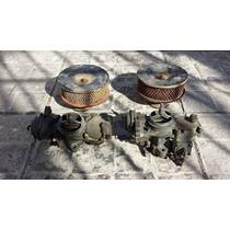Carburadores Filtros De Aire Con Carcazas Fusca Brosol Solex