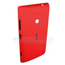 Tapa De Batería Tapa Trasera Nokia Lumia 520 Rojo Generico