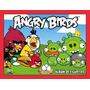 Album Angry Birds Con 5 Sobres De Figuritas