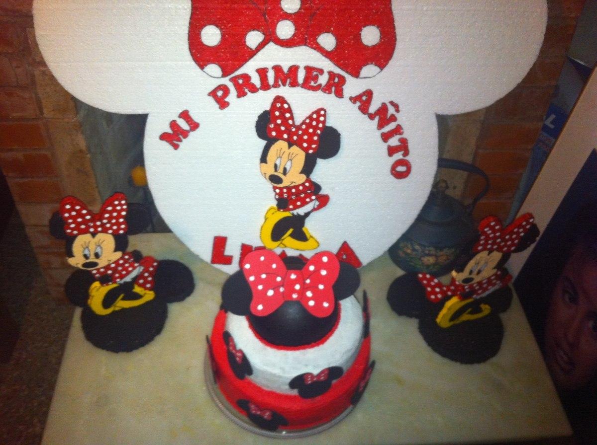 Cartel Para Cumpleaños De Espuma Plast Minnie Mouse - $ 385,00 en ...