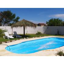 Casa C/piscina A Una Cuadra De La Playa En Aguas Dulces