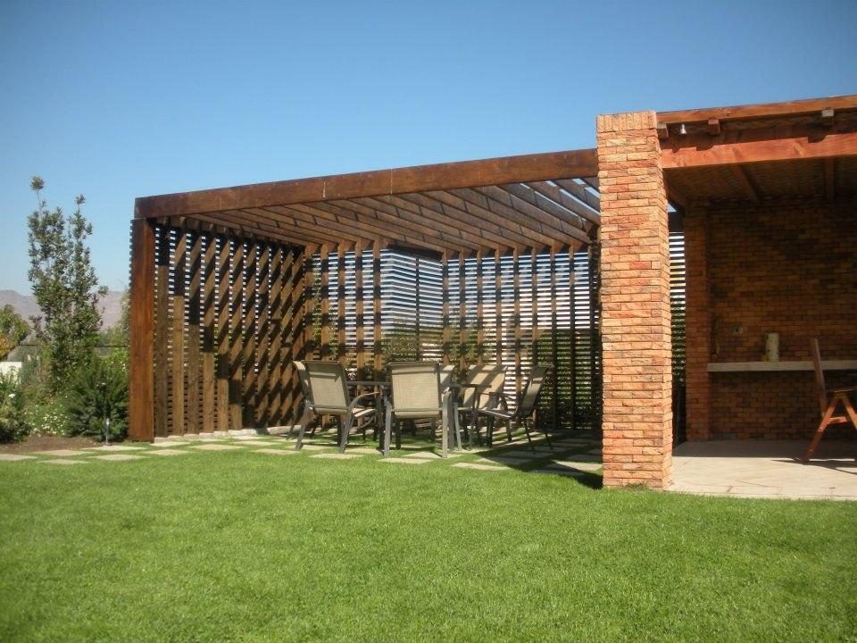 Top rejas de casas wallpapers - Cerramiento de madera ...