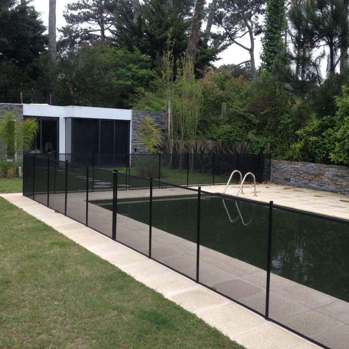 Cerramiento para piscinas removible seguridad ni os redpro for Cerramientos para piscinas