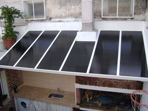 Cerramientos en policarbonato doble vidrio o aluminio for Cerramientos patios interiores