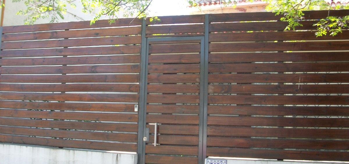 Pin cerramientos en madera bogota colombia servicios - Cerramiento de madera ...